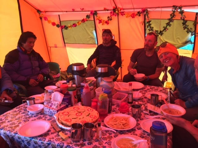 Jake's Blog #18: What a difference a day makes / A Baltoro Mystery