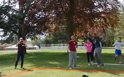 Next Generation of Sporting Leaders come to Sandhurst for IDG programme
