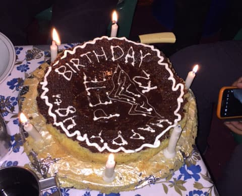 Jake's Blog #38 & 39 : Waiting on the weather… and cake!
