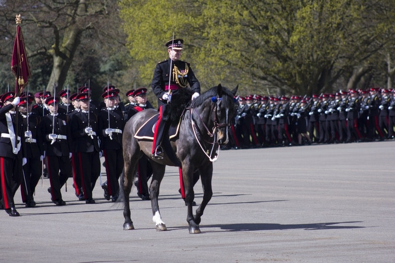 Royal Military Academy Sandhurst Commandant's Parade 2017