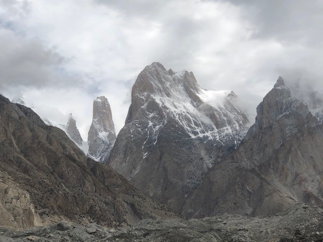 The Trango Group including the famous Trango Tower