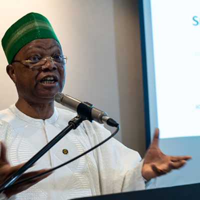 Prince Julius Adewale Adelusi-Adeluyi, Founder and Chairman Juli PLC and former Minister of Health in Nigeria