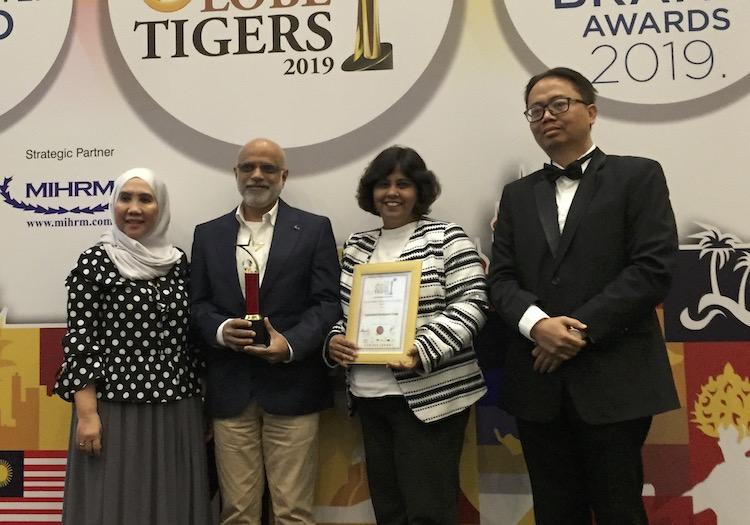 IDG wins prestigous award at the Golden Globe Tigers Award for Excellence Ceremony