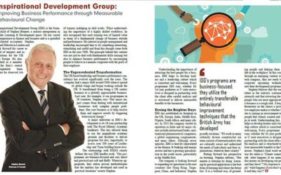 IDG Chairman Stephen Bennett interviewed by Silicon India magazine